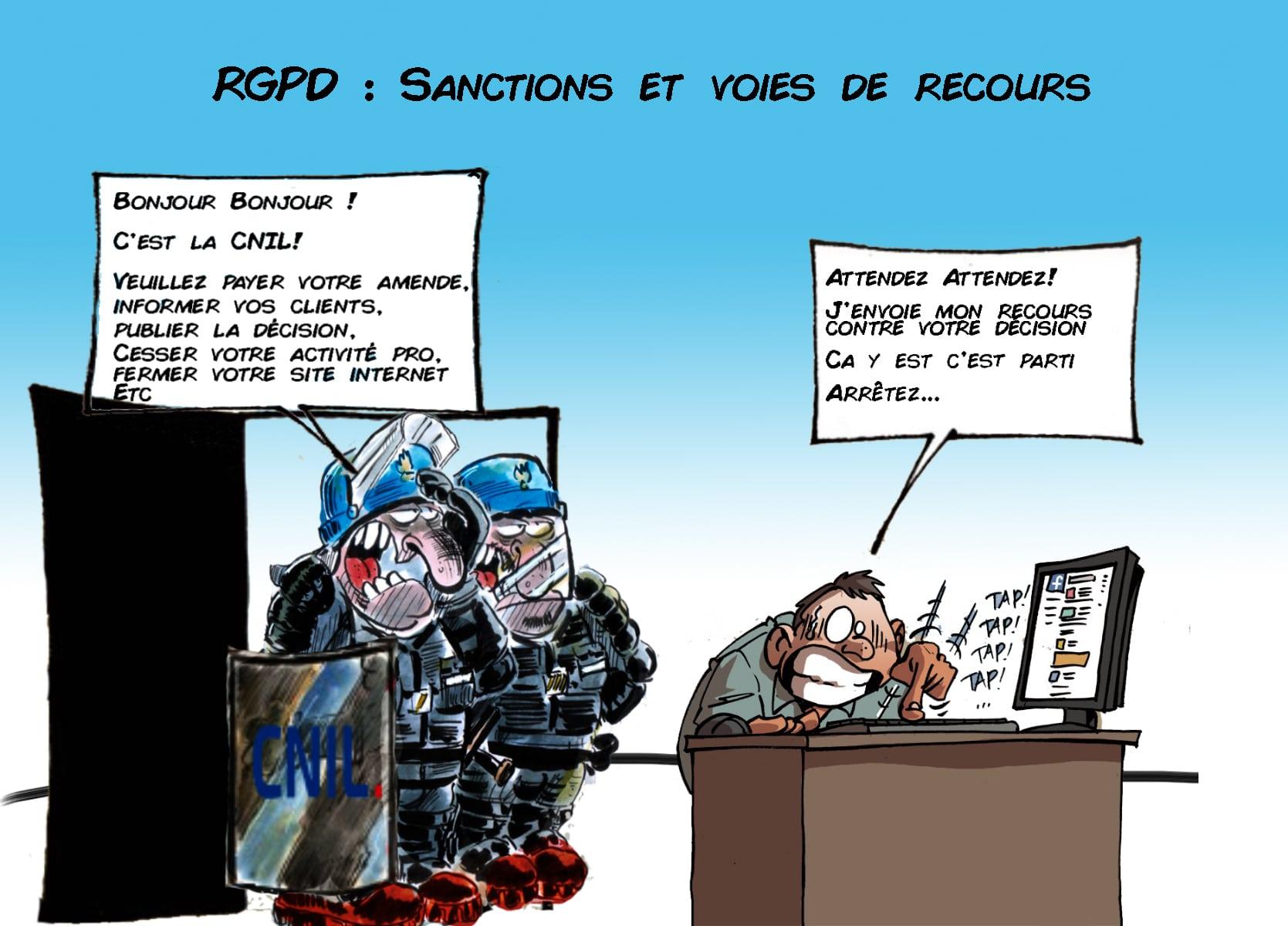 RGPD - Protection des données personnelles - Sanctions CNIL & voies de recours