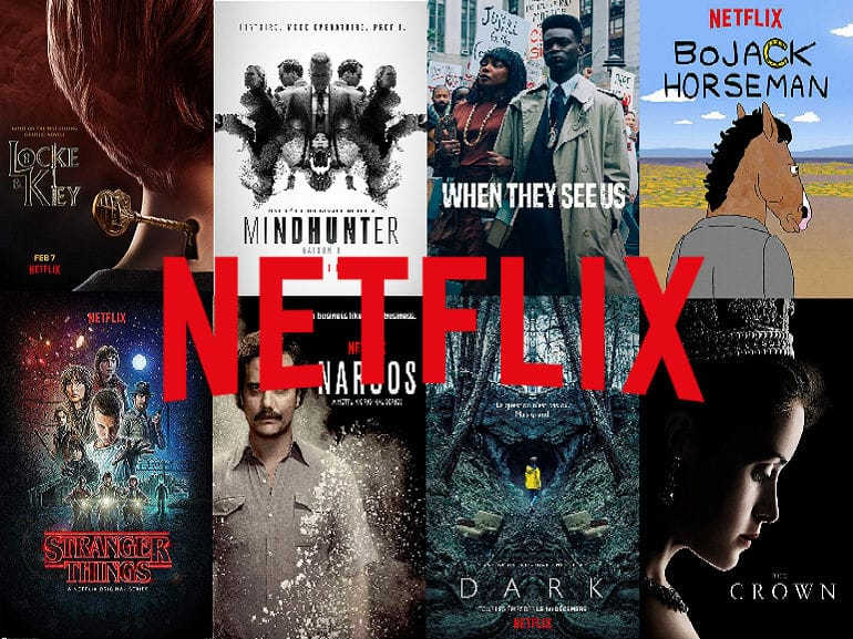 Netflix - Créateur de contenus audiovisuels - Plateforme de streaming
