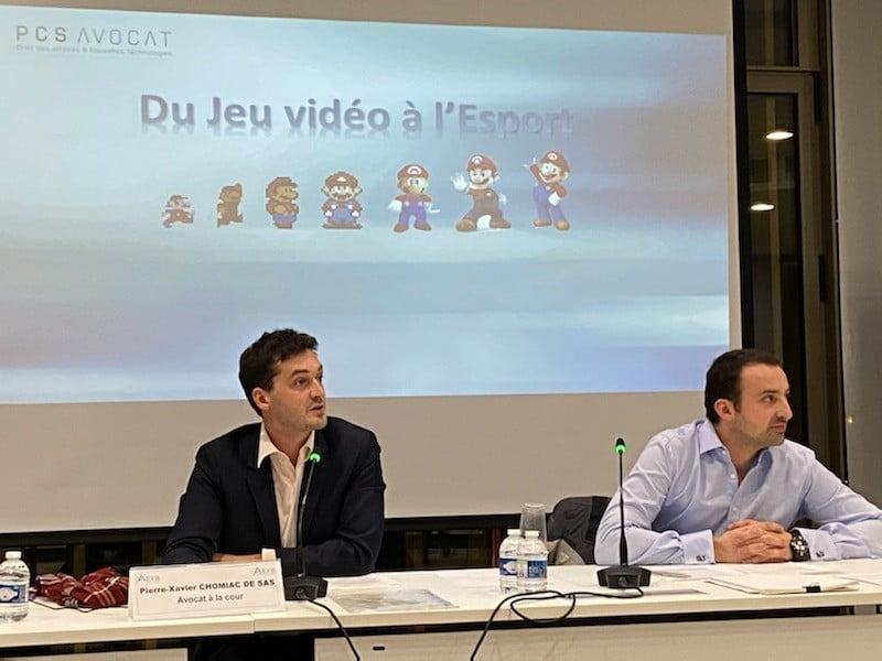 Formation EFB - Du jeux vidéo à l'esport - Loi et jurisprudence
