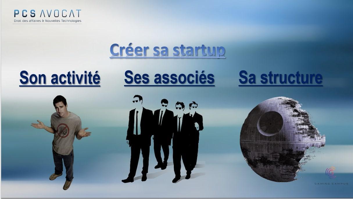 Startup entrepreneur formation droit des sociétés PCS Avocat