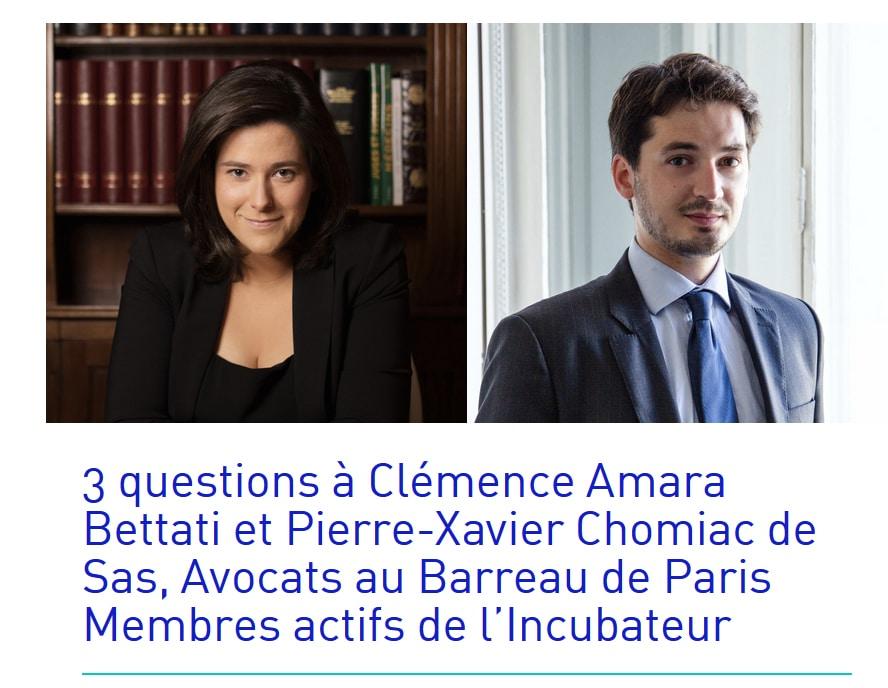 Incubateur Barreau de Paris - Legalstech de l'Ordre des avocats - PCS Avocat