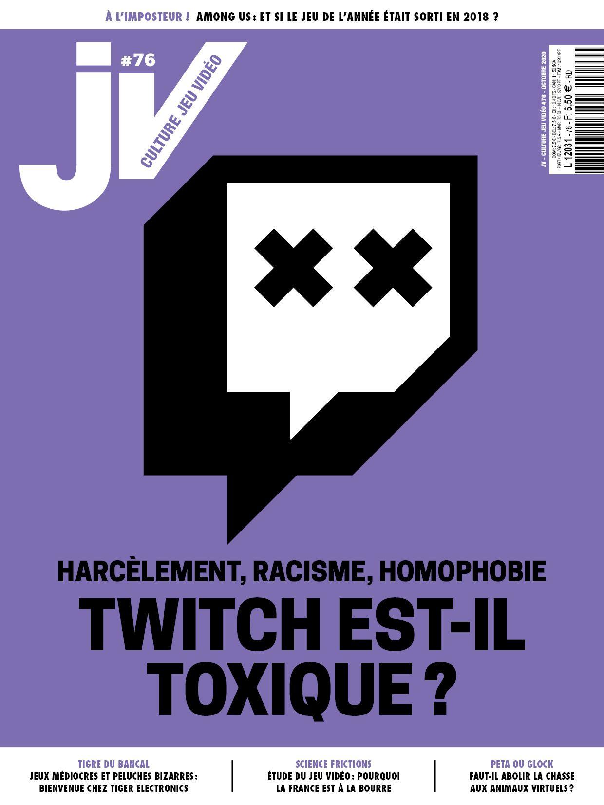 Article de JV Le MAG consacré à la plateforme Twitch, les Harcèlement, Racisme et homophobie analysé par PCS Avocat