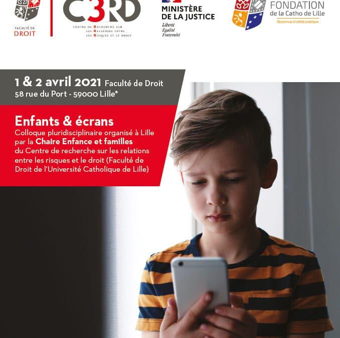 Colloque 2021 «Enfants & écrans» – Enfants spectateurs et influenceurs