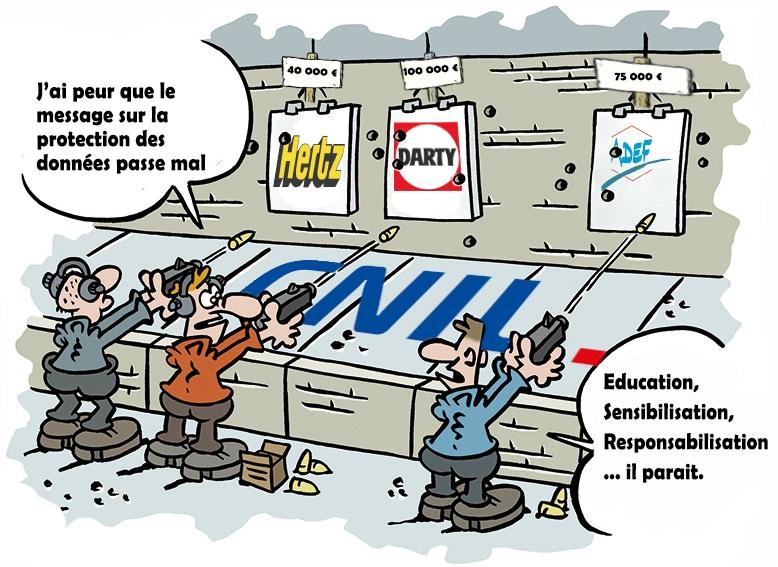 CNIL et RGPD - Condamnation ADEF - Protection des données personnelles
