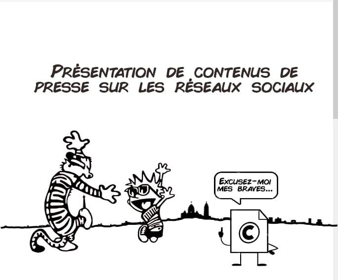 Droit d'auteur et droit voisin - Agences et éditeurs de presse - Propriété intellectuelle et réseaux sociaux