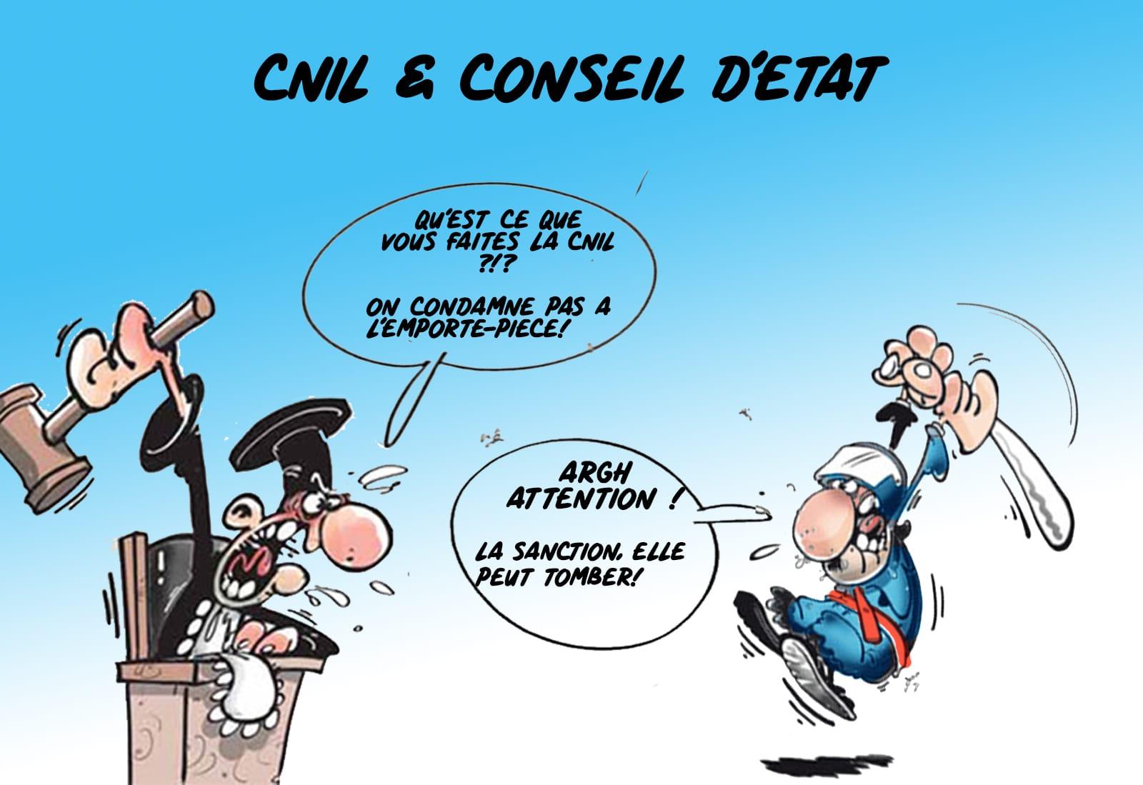 RGPD et CNIL - Collecte et Traitement de données personnelles - Voies de recours et Conseil d'Etat