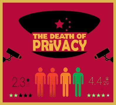 Chine - Notation sociale et données personnelles - Cybersécurité et nouvelles technologies