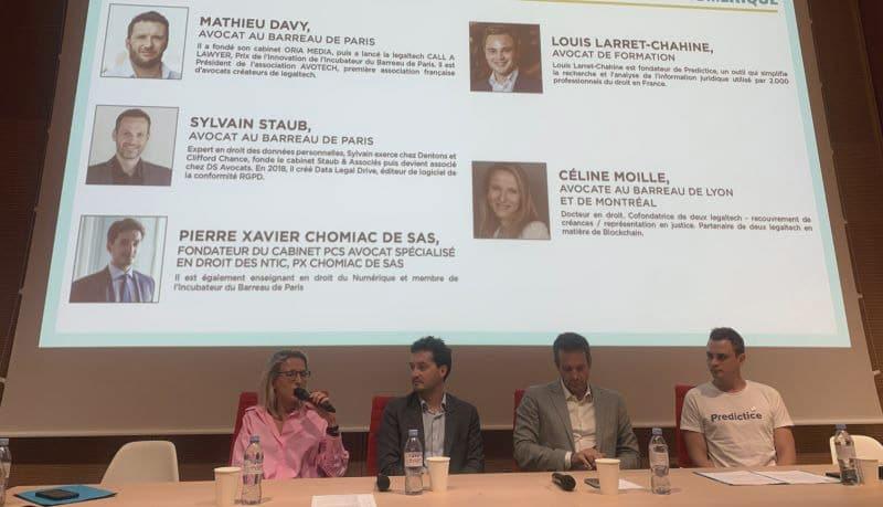 Intervention de Pierre Xavier Chomiac de Sas sur le thème de la déontologie des avocats dans les legal tech et les réseaux sociaux
